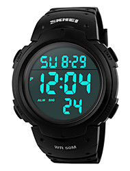 SKMEI® 50 m Waterproof, Taiwan Chip, Big Dial, Countdown Timer, Men's Sports Watch Cool Watch Unique Watch