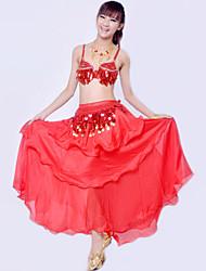Accesorios ( Negro / Azul / Fucsia / Morado / Rojo / Royal Blue / Amarillo , Spandex / Poliéster , Danza del Vientre ) - Danza del Vientre