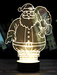 Luminous Father Christmas Valentine's Day Gift