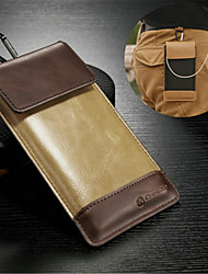 For LG Case Flip Case Pochette Case Solid Color Soft PU Leather LG