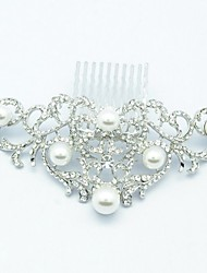 Bridal Hairpins Pear Hair Combs Wedding Pearl Hair Jewelry Accessories Pageant Headpiece