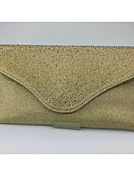 Women Other Leather Type Formal Clutch Gold / Silver / Black