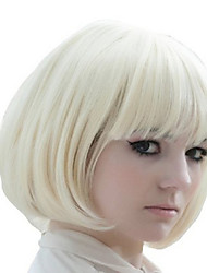 Short Synthetic  Wigs Extensions Blend Beautiful Style