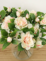 Шелк Гардения Искусственные Цветы