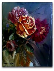 Still LIfe Wall Art IARTS Brand Flower Oil Painting DIY Frame Interesting Design