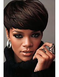 2016 New Short Cheap Wigs for Black Women Pixie Cut Wig Afro Full African American Realistic Kanekalon Wig