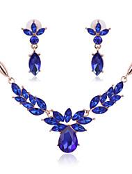 2016 Fashion Women Jewery Set  Necklace Earrings  Parure Bijoux