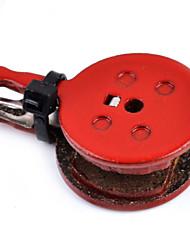 Frenos de bicicletas y piezas ( Rojo , Metal ) - Bremsbelag