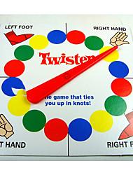 Классический твистер семья игра, которая связывает вас в игре узлов платы