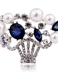 la marque haut de gamme autriche panier plein de diamants Broche cristal