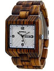 montre vintage de bois, Mens Watch, montres à quartz en bois, montre solaire, idée cadeau