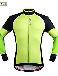 WOSAWE Fleece Thermal Winter Cycling Jackets Windproof Bike Bicycle Long Sleeve Jersey Shirts Ciclismo Cycling Clothing