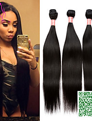 Brazilian Hair Weave 3 Bundles Virgin Hair Straight Sunny Queen Hair Products Unprocessed Virgin Brazilian Straight Hair