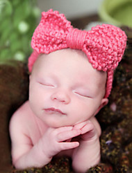 Newborn Big Knitted Bow Knot Headband
