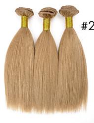 top súper remy cabello real brasileño 100% original virgen humana por mayor&uso del salón, yaki, 110g, 3pcs dobles extraídas