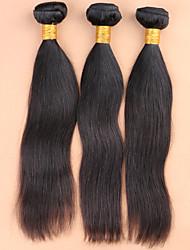 13x4 ouvido para fechamento laço frontal brasileira orelha com feixes frontais humanos retas do laço do cabelo com cabelo do bebê