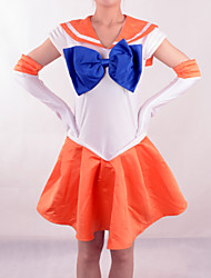 Disfraces Cosplay - Sailor Moon - de Sailor Venus - Vestido / Guantes / Arco -