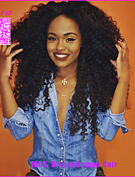 250% Density Brazilian Kinky Curly Lace Front Wigs Afro Kinky Curly Full Lace Human Hair Wigs For Black Women