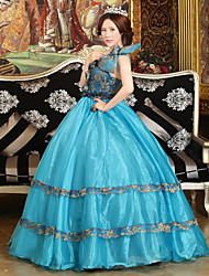 Steampunk®Georgian Blue Victorian Gown Party Dress Marie Antoinette Wholesalelolita Rococo Evening Dresses