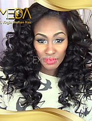 "10""-26"" Brazilian Virgin Hair  100% Human Hair Lace Wigs Curly hair Lace Wigs"