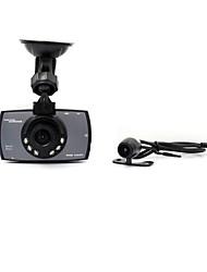 """HD  1080P 2.7""""  Dual Lens  Car DVR Dash Camera Recorder  Cam  G-sensor Night Vision"""