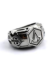 Schmuck Inspiriert von Assassin's Creed Connor Anime/ Videospiel Cosplay Accessoires Ring Silber Legierung Mann