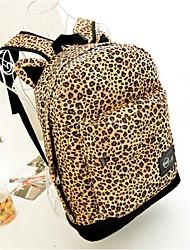 Women Canvas Bucket Backpack - Yellow