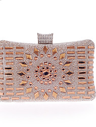 L.WEST Woman Fashion Luxury High-grade Diamdons Evening Bag