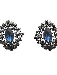 Antique crystal earring