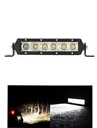 30w LED Cree bar lumière atv inondations travaux légers 4 roues motrices hors route feux de route