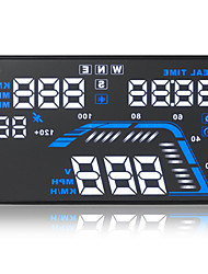 Q7 HUD Universal Head Up Display KM/h MPH Speeding Project Car Detector Elevation Compass Time GPS USB Interface