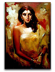 Beautiful India Girl Oil Painting IARTS Brand High Quality