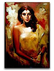 bella pittura a olio ragazza india iarts marca di alta qualità