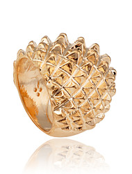 European Style Hedgehog Curled Shape Alloy Ring