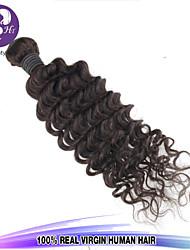 1Pcs/Lot Malaysia Virgin Hair Deep Curl Wave 100% Human Hair Unprocessed Hair Weaves