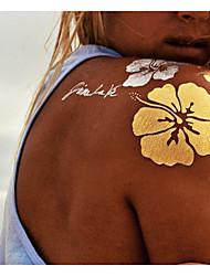 9 Tatouages Autocollants Autres Non Toxique MotifHomme Femme Adulte Tatouage Temporaire Tatouages temporaires
