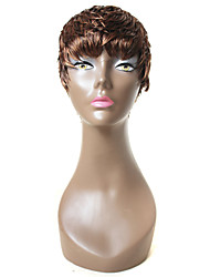 X-TRESS Straight Short Wig 100% Human Hair Wig