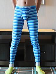 Men's Cotton U Convex Pouch Design Long Johns