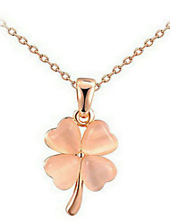 Necklace Chain Necklaces Jewelry Wedding / Party / Daily / Casual Opal Gold 1pc Gift