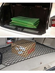 Universal Durable Dual Layer Network Automobile Trunk Luggage Mesh Storage Rear Cargo Net Double Layer