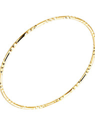 Bracelet/Bangles Gold Plated Wedding / Party / Daily / Casual / Sports Jewelry Gift Yellow Gold,1pc
