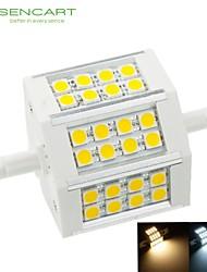 8W / 10W R7S Fari LED Modifica per attacco al soffitto 24 SMD 5060 650-800 lm Bianco caldo / Luce fredda Intensità regolabile AC 85-265 V