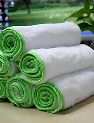 Tirol 6шт супер мягкой микрофибры чистки автомобиля ватки полотенце 35 * 35 см многофункциональный очистки мойка ткань