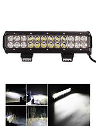 """12 """"pouces 72W CREE LED barre lumineuse de travail pour bateau tracteur hors route 4wd 4x4 camion VUS place atv combo d'inondation 12v"""