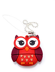 hibou de bande dessinée animale lecteur flash USB 8 Go