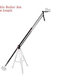Stabilisateur de caméra kit de bras mini-grue à flèche à bascule vidéo fr DSLR vidéo de tir 1950mm d'action pro
