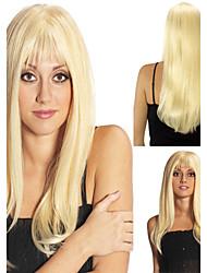 Women's Fashion Long Hair Wig Scorpio Wig with Full Bang