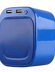 MUC1001 Multi-function US Plug Bluetooth V3.0 Speaker w/ Dual USB Ports / LED Night Light