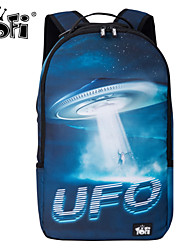 Unisex Nylon Backpack UFO Printing / Laptop Bag