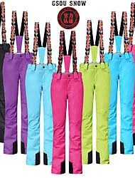 GSOU SNOW Women's Ski Bottoms/Pants Pants Waterproof/Breathable/Anatomic Design/Wearable/Windproof